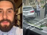 Hipster lawyer explains which car was at fault in a viral video that saw two cars collide