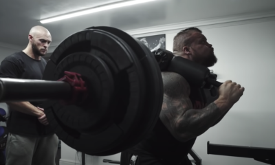 Eddie Hall Shared His First Weight Room Workout After His Detached Bicep Injury