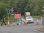 Woman, in her 40s, whose body was found near A3 slip road in Surrey was killed elsewhere