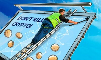 'Don't kill crypto' billboard goes up in Alabama in advance of House tackling infrastructure By Cointelegraph