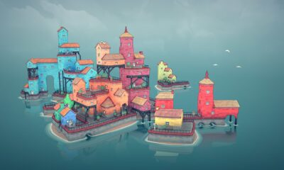 Cute town building toy Townscaper has left early access