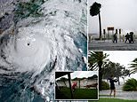 Fears Hurricane Ida could BREACH New Orleans levees on 16th anniversary of Katrina