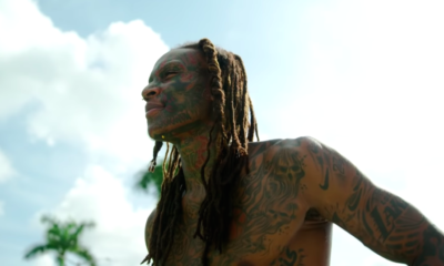 This Guy Covered Up All of His Face and Body Tattoos to See How His Mom Would React
