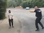 Scottish police taser a bat-wielding man to the ground in Paisley [Video]