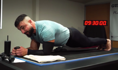 Watch This Guy Smash the World Record for Longest Plank of All Time