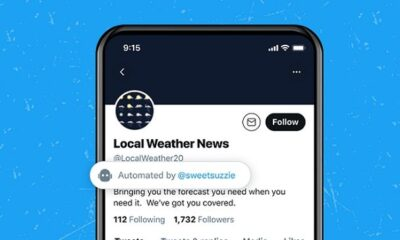 Twitter Launches Live Test of New Labels for Bot Accounts