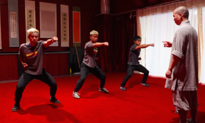 These Guys Trained Like Marvel's 'Shang-Chi' With a Real Shaolin Kung Fu Master