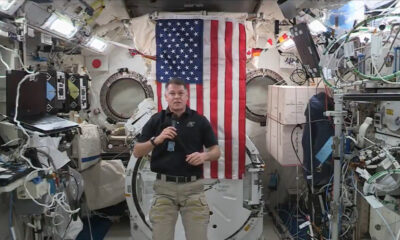 Astronauts in space pay tribute to 9/11 victims on 20th anniversary of attacks