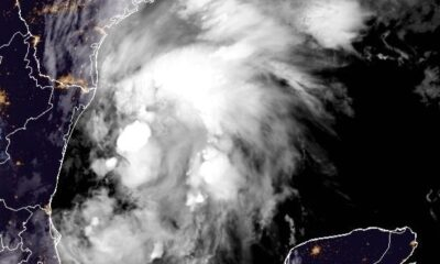 Tropical Storm Nicholas expected to strengthen as it heads for Texas coast