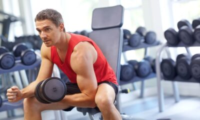 Men Over 40 Can Build Big Arms Through Concentration