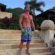 Nine Perfect Strangers Star Luke Evans Shows Off His Six-Pack in a Shirtless Selfie