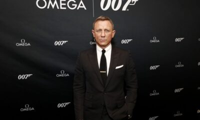 Daniel Craig Gets Emotional in His Goodbye Speech After Wrapping No Time to Die