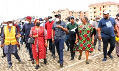 Sanwo-Olu threatens to terminate contract of erring contractors in 7 days