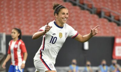 Carli Lloyd kicked off farewell tour with 5 goals against Paraguay