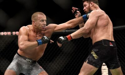 A Pro Fighter Demonstrates How to Throw Georges St-Pierre's 'Superman' Punch