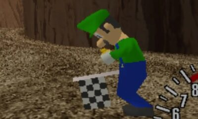 Nintendo's Luigi has been discovered in an unreleased retro racing game for the Sega Dreamcast
