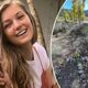 Gabby Petito's stepfather creates stone cross memorial at exact site where daughter's body was found