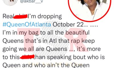 """Akbar V Shares A Series Of Tweets About The """"Queen of Atlanta"""" Title"""