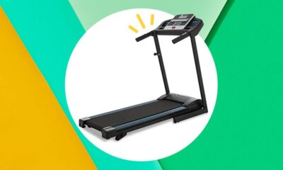Amazon's Best-Selling Foldable Treadmill Is On Sale For Over $100 Off