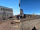 Three people are dead and 'well over' 50 are injured after Amtrak train derails in Montana