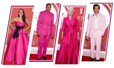 Tony Awards 2021: Celebs Make a Bold Statement in Pink