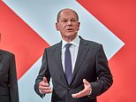 German poll winner Olaf Scholz says shortage of lorry drivers is Britain's own fault