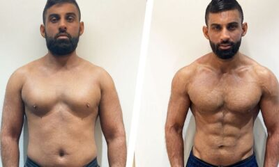 Here's How I Lost Nearly 40 Pounds and Got Shredded in 11 Weeks