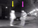 Moment killer cop stopped Sarah Everard on street