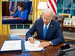 President Biden suffers humiliating setback as party infighting derails infrastructure vote