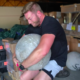 Watch This Navy Vet Attempt U.S. Army Strongman Training