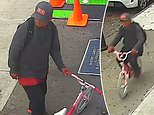NYC thief robs a 10-year-old of her cell phone, takes off on a pink bicycle with butterflies on it