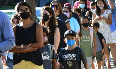 Florida School Board Punishes Schools With Mask Mandates — And Tries To Neutralize White House Effort To Help Them Out