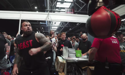 Eddie Hall Tried to Test His Punching Strength—and Broke the Machine