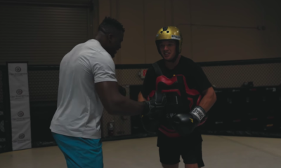 Watch UFC Star Francis Ngannou Punch BMX Pro Ryan Williams Square in the Chest