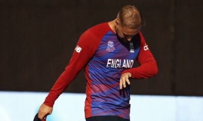 Liam Livingstone in doubt for T20 World Cup opener after injuring finger in warm-up match