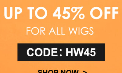 Julia Hair Halloween Sale For All Wigs with 50% Discount