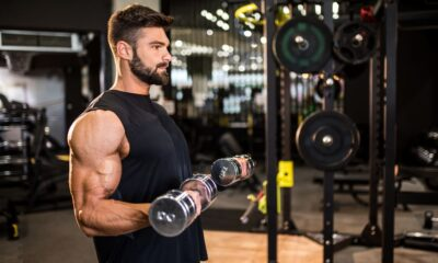 Build Bigger Biceps By Adding Bands to Your Dumbbell Curls