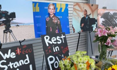 """""""Grief and Disbelief"""": Cinematographer Halyna Hutchins Remembered as Unique Talent, Loving Mother at L.A. Memorial"""