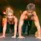 Watch Eric and Jessie James Decker Work Up a Sweat with a Tough Core Workout