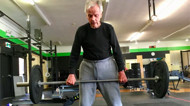 Watch This 96-Year-Old Man Absolutely Crush a CrossFit Workout to Celebrate His Birthday