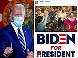 Trump mocks Biden's senior moments with mocked up campaign poster that puts him in a care home