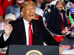 Trump asks supporters if they've had COVID during Pennsylvania rally