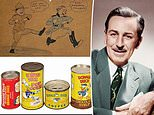 Hundreds of VERY rare Disney artifacts go up for auction