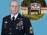 Master sergeant and Army veteran found dead in training area at Fort Bragg