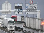 Escaped British prisoner, 31, caught by FRENCH police after trying to run through the Channel Tunnel