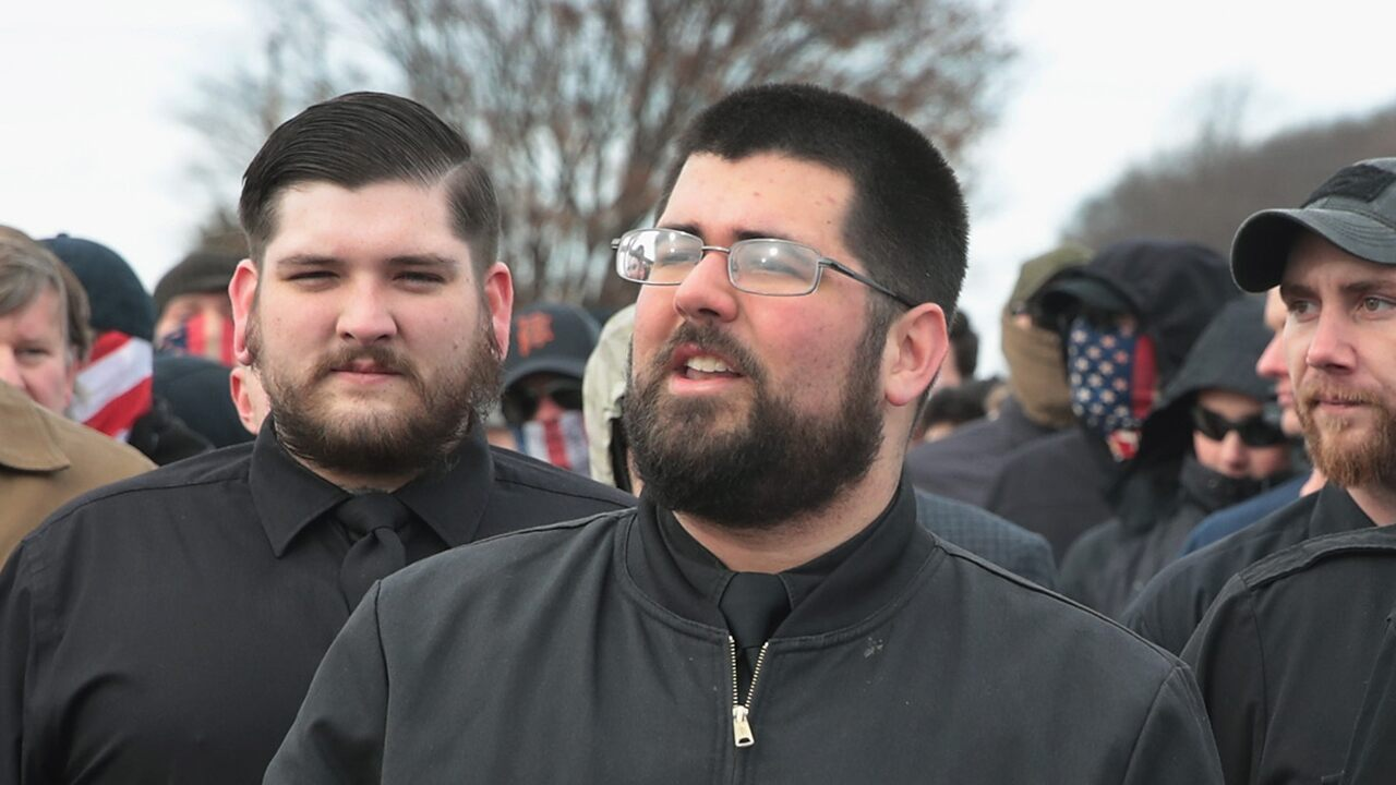 Indiana white nationalist at Capitol riot identified in photos