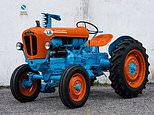 1964 1R model tractor made by supercar manufacturer Lamborghini goes on sale for £15,000