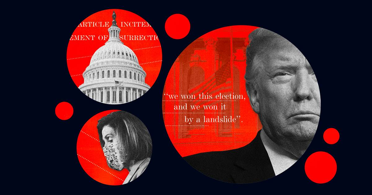 Live updates: House moves to impeach Trump for 'incitement of insurrection' in Capitol riot