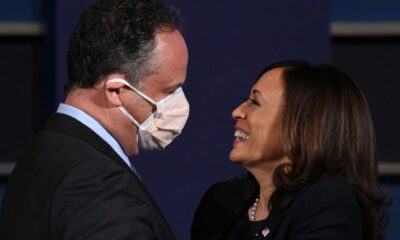 Watch Doug Emhoff's Reaction When He Learns That Kamala Harris Googled Him Before They Met