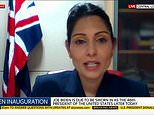 Priti Patel blames AstraZeneca and Pfizer supply issues for vaccine slowdown